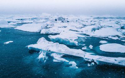 NATURE IS SPEAKING: Il ghiaccio, lento a nascere, veloce a morire.